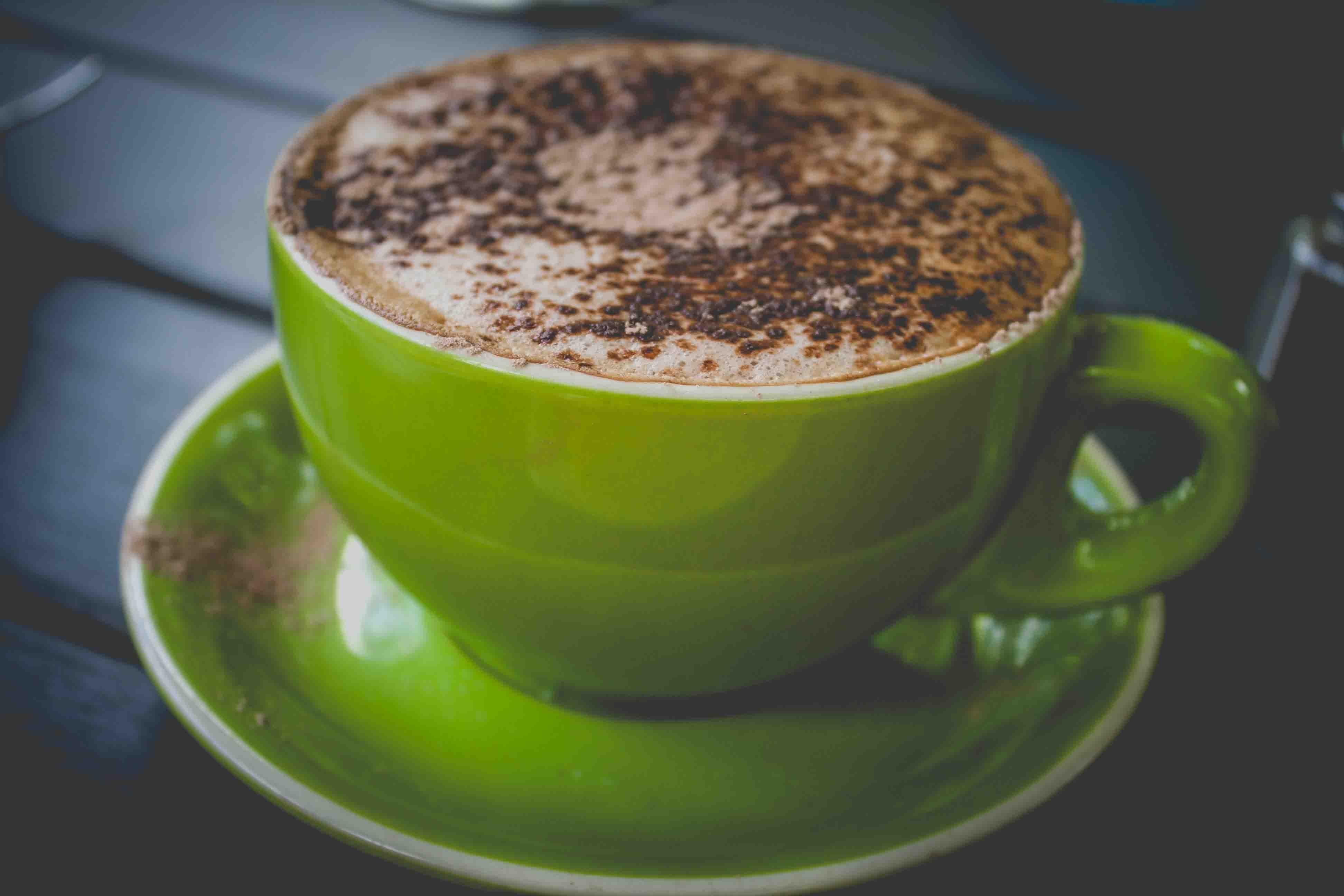 groene koffie bonen