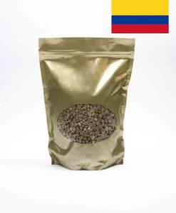 Colombiaanse groene koffiebonen