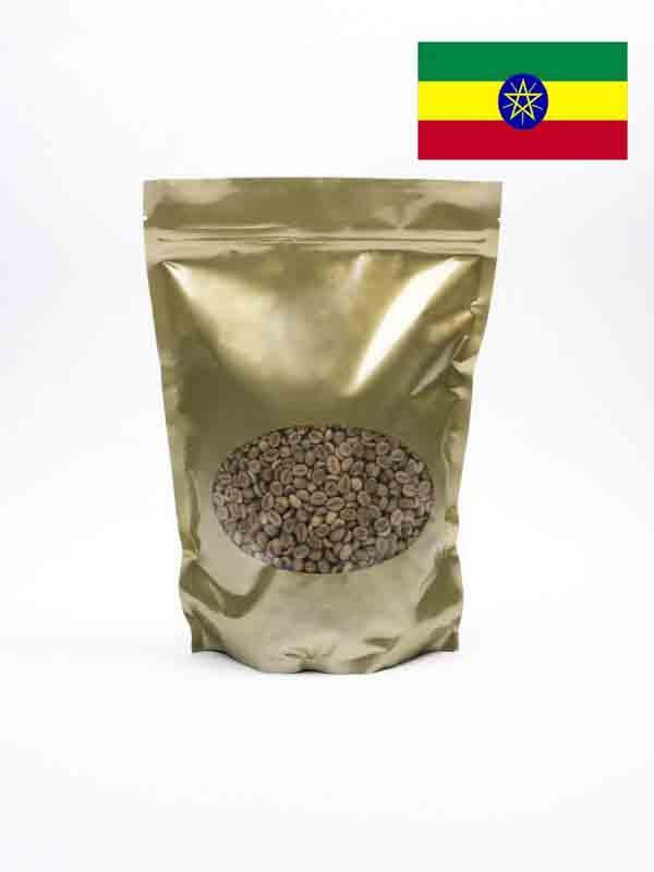 Hedendaags Ethiopië Ongebrande Koffiebonen uit Djimmah - Groene Koffie Winkel GF-29