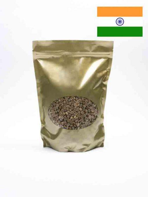 Indiase Arabica Plantation Ongebrande Koffiebonen in zak