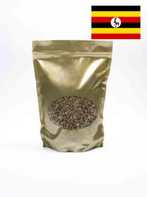Groene koffiebonen uit Uganda